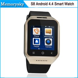 Wholesale ZGPAX S8 G Android Smart Watch Phone Smartwatch GPS Compass MTK6572 Dual Core Screen M GB Wifi Bluetooth WCDMA GSM