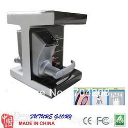 Wholesale 3 in1 fingerprint lock Adel Silver Fingerprint Lock Biometric Fingerprint Door Lock