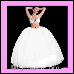 Wholesale New Stylish Merry Modes Full Petticoat Quinceanera Slip Crinoline Stock Petticoat For A Line Bridal Dresses Prom Dresses