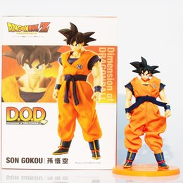 Anime D.O.D Dimension of Dragon Dragon Ball Z Super Saiyan Son Gokou PVC Action Figure Model Toy 22CM With Box