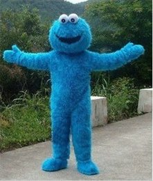 Wholesale High quality COOKIE MONSTER mascot COOKIE MONSTER mascot costume Elmo mascot
