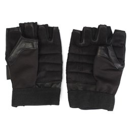 Wholesale Best Sales Men Weight Lifting Gym Exercise Training Sport Fitness Sports Leather Gloves New