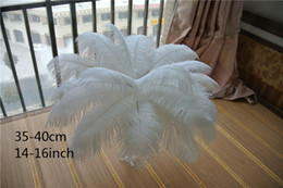 wholesale 14-16 INCH (35-40cm) Ostrich Feather Plume for Table Decoration wedding centerpieces decor party event supply decor