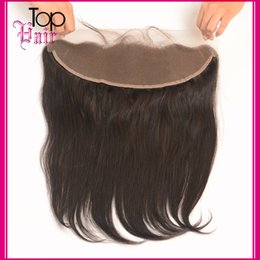 13*4 Frontal Lace Closures with Baby Hair Indian Virgin Straight Hair Weave Closure Natural Wave Top Quality Straight Remy Hair