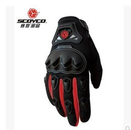 Wholesale-New arrive brand SCOYCO MC29 gloves  mens motorcycle motorbike gloves  motocross racing glove  moto luva guantes