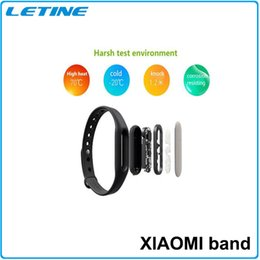 Wholesale Similar Bluetooth Xiaomi Smartwatch Miband Bracelet for Android IOS Application System Waterproof Smart Wrist DHL