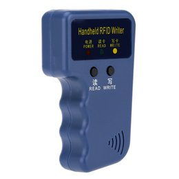 Wholesale Portable home Security Handheld KHz RFID ID Card Writer Copier Duplicator Access Control S576