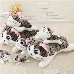 Wholesale 2016 New Arrival For Baby s Best Gift cm Cheese Cat Lovely Cute Plush Toy One Piece