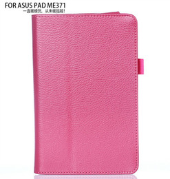 Wholesale-3 in 1 New Pu Leather Case Flip Cover For Asus FonePad ME371 ME371MG 7 inch Tablet 7'' + Screen Fillm + Stylus Free
