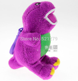 Wholesale Cute Barney the Dinosaur Plush Toy CM TV Cartoon Soft Dolls Toy Kids Christmas Birthday Gifts