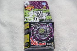 Wholesale New Arrive RARE Genuine Beyblade Metal Fight BB Poison Giraffe S130MB NO HAVE Without Launcher