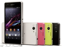 Wholesale Original Sony Xperia Z1 Compact Mini D5503 Unlocked Cell Phone MP Quad Core RAM GB ROM GB quot Screen Refurbished Phone