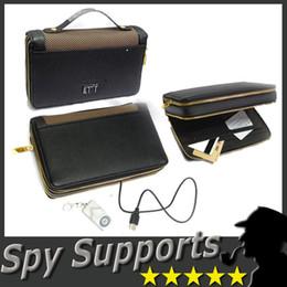 Bolso del espía con el telecontrol ocultado alejado sin hilos DVR del agujero de alfiler Gadget espía de la cámara 720 x 480 pixeles AVI 30fps Apoye Windows XP / Vist / WIN7 / 8 desde cámaras ocultas bolsa proveedores