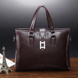 Wholesale Factory direct men burst models male bag handbag shoulder bag man business computer bag authentic