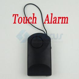 2017 entrée de la porte de sécurité 120dB Touch Sensitive Door Knock entrée d'alarme sans fil de sécurité à domicile système d'alarme tactile anti-vol antivol système d'alerte de sécurité entrée de la porte de sécurité sortie