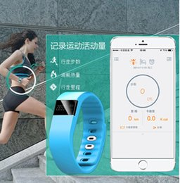 Promotion apple iphone montres intelligentes 2015 TW64 SmartBand Smart Wristband Fitness Tracker Bluetooth Smart Watch étanche ip67 SmartWatch pour iphone avec boîte de paquet