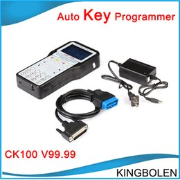 Wholesale Newly Design Auto key programmer CK CK100 Newest V99 Locksmith Silca SBB key maker CK DHL Fedex