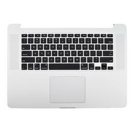 Wholesale Topcase with keyboard Touchpad Trackpad US Layout For Apple Macbook Pro Retina A1398 Mid Early Year