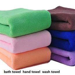 Wholesale Mocol High quality bath towel hand towel wash towe GSM l color Red blue green purple coffee orange dark pink M X XL beach towels
