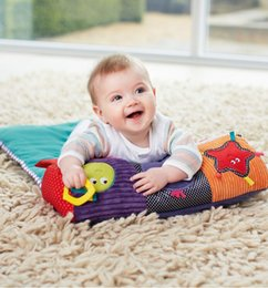 Wholesale Baby Crawl Roller Baby Climbing Pillow blanket toy Learning educational Toys teether figure