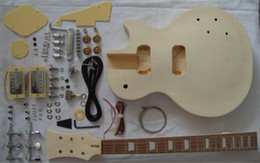 Classical LP standard semi-finished electric guitar with all parts guitar kit LP guitar