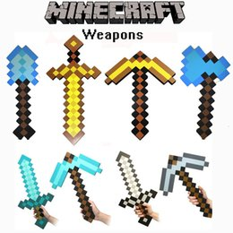 Wholesale Minecraft Sword Minecraft Foam Sword Minecraft Pickaxe of models Available Same Day Shipping
