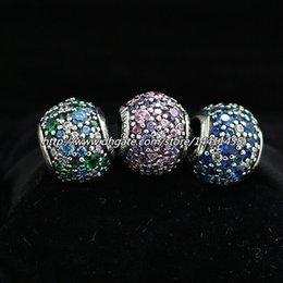Authentic 925 Sterling Silver Charms and Murano Glass Bead Set with Charm Box Fits European Pandora Jewelry Charm Bracelets CB100
