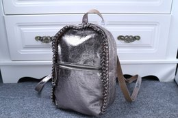 Wholesale newest stella shoulder bag Stella Falabella McCartney Faux Leather Shool Bag Beckett chain bag