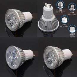 Wholesale 6W W W w Led Plant Grow Light E27 E14 GU10 MR16 AC v v DC v for flowering plant hydroponics system bulb lamp