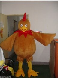 Wholesale Hot New Professional New Rooster Cock Fancy Dress Mascot Costume Adult Size A6978