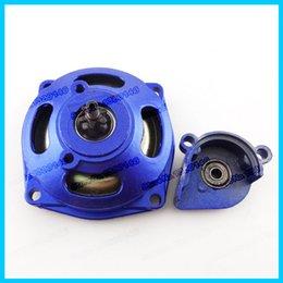Wholesale 25H Gear Box blue For cc cc Mini Pocket Bike ATV Quad Baja Drif Racing mini motor pocket bikes Go Kart Cart order lt no track