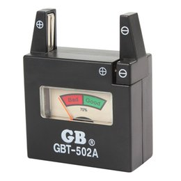 Wholesale GBT A Battery Tester for V AA AAA C D N Batteries V Button Cell Batteries CHA_399