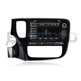 Wholesale 2015 NEW car dvd player for MITSUBISHI OUTLANDER CASKA OEM standard car in dash system with gps navi