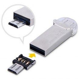 Wholesale Protable Mini DM USB to Micro USB Male OTG Adapter for USB Flash Driver Phone Pad Mini otg Car Reader Mobile phone U Disk