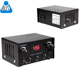 Wholesale 9430 BJT Digital Dual iron Steel Tattoo Power Supply for tattoo machine tattoo guns