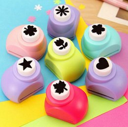 Wholesale Deal Kid Child Mini Printing Paper Hand Shaper Scrapbook Tags Cards Craft DIY Punch Cutter Tool