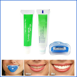 Wholesale Custom Design Print Logo Whitening Teeth Whitener Home Tooth Care Dental Tooth Teeth Cleaner Whitening Whitener System Whitelight Kit Set