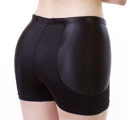 2017 New Fixed Padded Fake Hip Panties Bum Butt Enhancing Underwear Boyshorts Traceless Anti Knickers Free Shipping