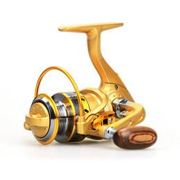 Promotion mini-roches Pêche Moulinets Mini Spinning Reel Carretilha Pesca BMW150 12 + 1 BB 5.5: 1 pliant en métal Rocker Rocher télescopique Attirail de pêche