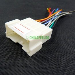 Wholesale ccessories Cables Adapters Sockets Car OEM Audio Stereo Wiring Harness Adapter For Hyundai KIA Install Aftermarket CD DVD Stereo