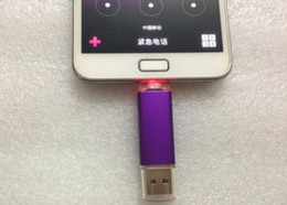 Smart Cell pendrives 128GB 256GB USB U Disk 2.0 Flash Drive Thumbdrie drive OTG external storage micro usb memory stick 50pcs