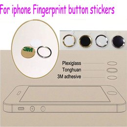 Wholesale Home Button Sticker Support Fingerprint Indentification System for iphone6 plus iphone5s C ipad mini ipad air Touch ID Button