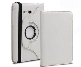 Wholesale 360 Rotating PU Leather Stand Case Cover For Samsung Galaxy Tab Lite