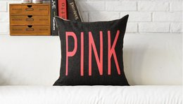 Wholesale Pink We Can Do It Rainbow Zebra Simpson Mr Kangaroo POP ART Pillow Decorative Pillows Euro Case Arts Popular Painting Gift