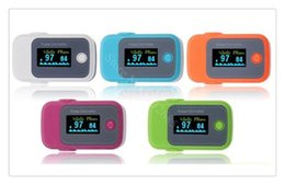 Wholesale Home Care Fingertip Pulse Oximeter Blood Oxygen SPO2 Saturation OLED Display Real time Spot Checks Advanced Setting for Alarm