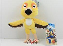 "Wholesale Stuffed Parrot Toys - 10pcs lot Free Shipping The Movie Rio Parrot Birds Nico Plush Toys Soft Stuffed Animal Dolls 9"" 22cm"