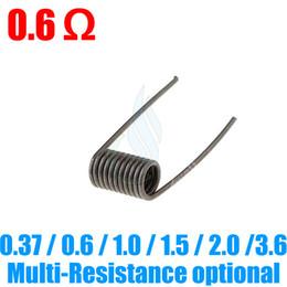 Mejor rba en Línea-Best KanthalA1 Nichrome Pre-enrollado alambres para RDA Modificar Rebuildable atomizadores Aris Aqua kayfun HAZE Stillare Orquídea V4 V3 mini e cigarrillos RBA