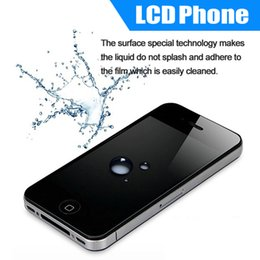 Wholesale Tempered Glass Screen Protector For iphone S With Cell Phone Screen Protectors For iPhone G and S