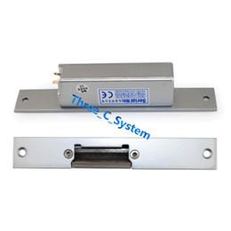 Wholesale Narrow type Electric Strike Door Lock Fail secure Fail safe Wooden Metal PVC Door Electric Lock Access Control E Door Lock