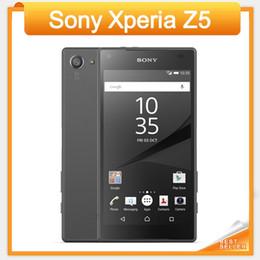 100% Original Cell phone Sony Xperia Z5 Octa core 5.2'' Touch 23MP Camera 3GB RAM 32GB ROM 3G&4G E6653 E6683 Unlocked refurbished Phone